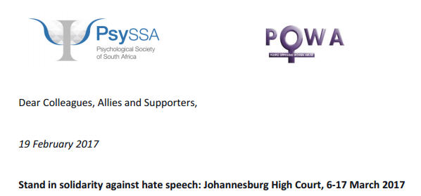 Stand in solidarity against hate speech